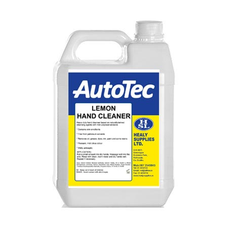 lemon hand cleaner autotec healy supplies