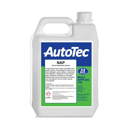 autotec nap interior cleaners healy supplies