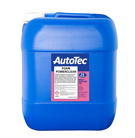 autotec foampowerclean transport cleaners healy supplies