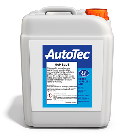 autotec nap blue interior cleaners healy supplies