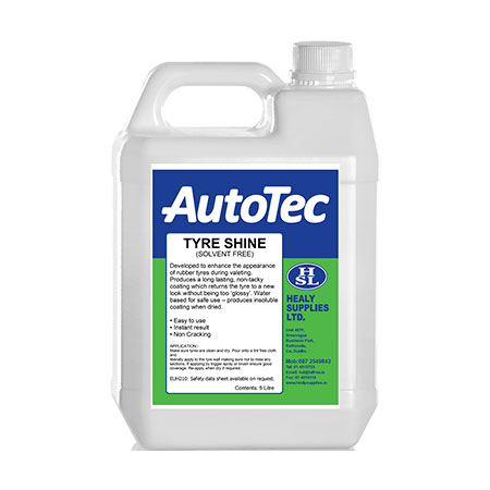 autotec vehicle dressings non solvent tyre shine healy supplies