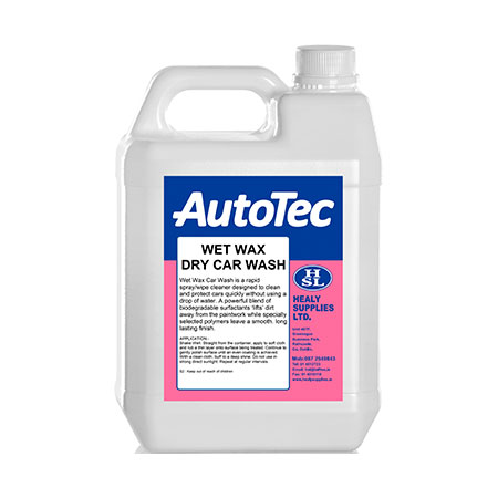 was rinse autotec wetwax healy supplies