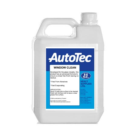 glass cleaners autotec windowclean healy supplies